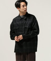 J.S Homestead/Ombre Check Over Shirt/502706373