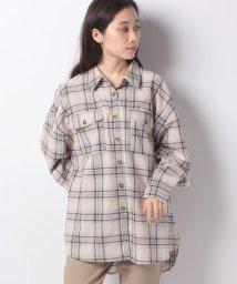 Bou Jeloud/【WEB限定】オーバーサイズチェックシャツ/502536243