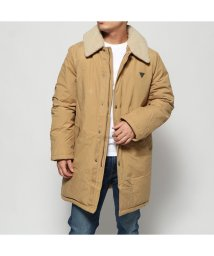 GUESS/ゲス GUESS BOA COLLAR DOWN JACKET (BEIGE)/502705911