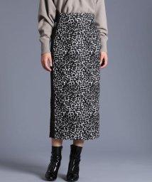 INED/《Luftrobe》ジャガードタイトスカート/502706800