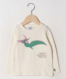 RUGGEDWORKS/ミニ裏毛配色恐竜PTロングTEE                    /502684718