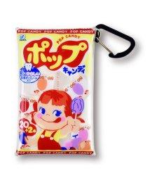 RUNNER/FUJIYA ペコちゃん ミルキー お菓子 クリアマルチケース Sサイズ カードケース コインケース 小物入れ/502384174