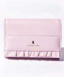 LANVIN en Bleu/ロゴフリルカードケース/502576889
