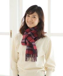 Afternoon Tea LIVING/タータンチェック柄カシミヤマフラー/502586976