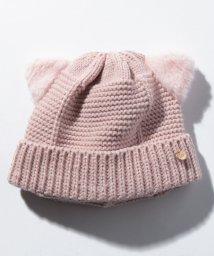 petit main/ボア耳つきアニマルニット帽/502676812