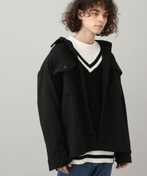 JUNRed/【WEB限定アイテム】ビッグCPOシャツ/502685740