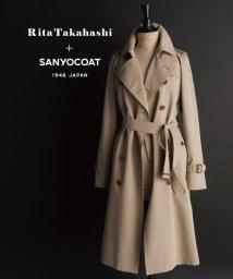 SANYO COAT/【高橋リタコラボ】ギザコットンギャバジントレンチコート/502688074