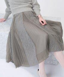 STRAWBERRY FIELDS/【美人百花 12月号掲載】DVエマルジョン スカート/502694877
