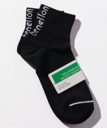 BENETTON (mens)/メンズバックカラーロゴSソックス・靴下/502696950