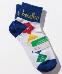 BENETTON (mens)/メンズアーガイル柄ロングソックス・靴下/502696953