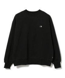 BEAMS MEN/STARTER BLACK LABEL × BEAMS / 別注 ロゴ クルーネック スウェット/502709356