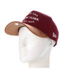 NEW ERA/ニューエラ NEW ERA キャップ CAP 940 プラムレッドコルク 11781472/502709718