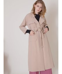 MIELIINVARIANT/Flap Work Trench Coat/502710097