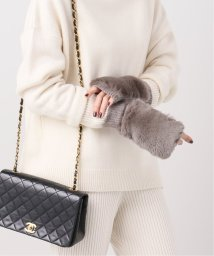 VERMEIL par iena/【ALPO/アルポ】KNIT FUR GLOVE/502710155