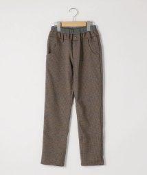 SHIPS KIDS/SHIPS KIDS:TR グレンチェック 5ポケット パンツ(145~160cm)/502711821