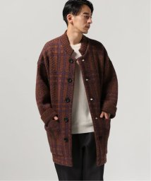 JOURNAL STANDARD/FILL THE BILL × TRISECT-2 BIG CHECK KNIT COAT/502712398