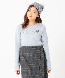 KUMIKYOKU KIDS/【150-170cm】ハートキルト裏毛 トレーナー/502712550