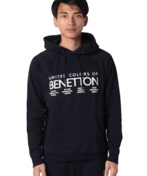 BENETTON (mens)/ロゴグラフィックパーカー/502692022