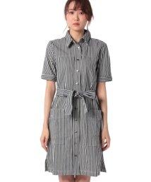 BENETTON (women)/ヒッコリーシャツ型ワンピース/502699562