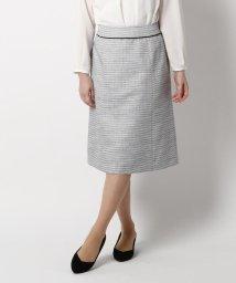 index/【セレモニー・入卒】【42(LL)WEB限定サイズ】セレモニーツイードAラインスカート/502712517