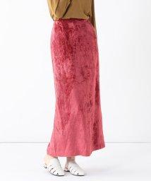 Demi-Luxe BEAMS/Demi-Luxe BEAMS / ストライプベロア タイトスカート/502604597