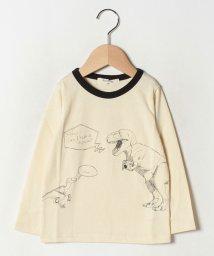 A-MACH/恐竜プリント長袖Tシャツ/502686623
