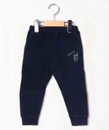 A-MACH/ジュース刺繍切替パンツ/502686642