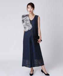 LASUD/[RADIATE]刺繍×レースオールインワン/502702018