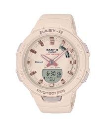 BABY-G/【BABY-G】G-SQUAD(ジー・スクワッド) / スマートフォンリンク / BSA-B100-4A1JF (ベージュ)/502715819
