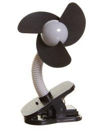 dreambaby/dreambaby ドリームベビー ベビーカー扇風機 クリップオン ファン シルバー×ブラック/502716654