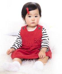 e-baby/シャツコールヨークフリルセットアップ/502552233