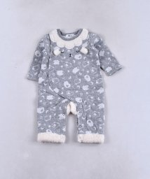 e-baby/接結+ボアヒツジパッチカバーオール/502552257