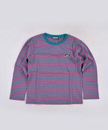 ZIDDY/オルチャンボーダーTシャツ/502637098