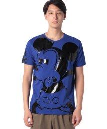 BENETTON (mens)/【Disney(ディズニー)コラボ】ミッキーマウスループロゴTシャツ・カットソー/502704714