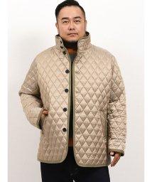 GRAND-BACK/【大きいサイズ】シナコバ/SINA COVA シャンブレーキルトジャケット/502718436