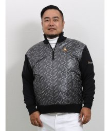 GRAND-BACK/【大きいサイズ】ルコックスポルティフ ゴルフ/le coq sportif GOLF ファンキーブロックパネル ハーフジップニット/502718581