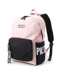 PINK-latte/サイドロゴメッシュポケットリュック/502720144