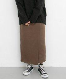 KBF/サイドベルトボタンラップスカート/502720325