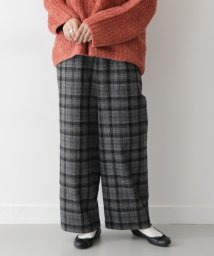 URBAN RESEARCH OUTLET/【ITEMS】チェックワイドパンツ24O/502680019