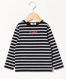 X-girl Stages/ロゴボーダーTシャツ/502699895