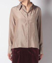Ciaopanic/ビックカラーサテンシャツ/502705464