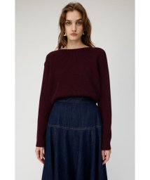moussy/BOATNECK 2WAY KNIT トップス/502721012