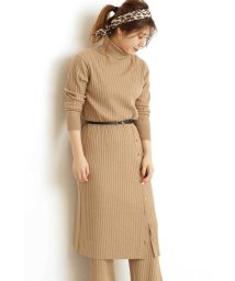 N Natural Beauty Basic/リブニットセットアップ ワンピース/502721068