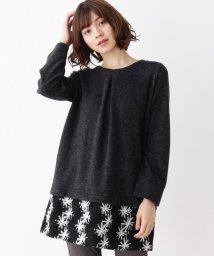SHOO・LA・RUE/裾フラワー刺繍ワンピース/502721811