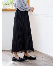 GROWINGRICH/[ボトムス スカート]Wプリーツチュールスカート[190708]Wプリーツで上品チュールにアップデート/502721946