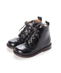 YOSUKE/ヨースケ YOSUKE キッズアイテム[直営SHOP限定モデル]本革ブーツ (ブラック)/502723394