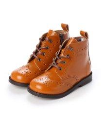 YOSUKE/ヨースケ YOSUKE キッズアイテム[直営SHOP限定モデル]本革ブーツ (キャメル)/502723397