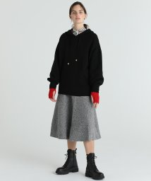 GRACE CONTINENTAL/ツイーディーニットスカート/502723835