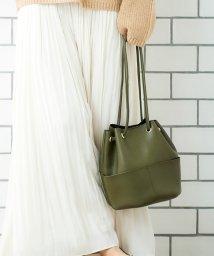 le.coeur blanc/筒型巾着バッグ/502525871