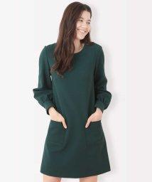 Tara Jarmon/【メディア着用】定番 TOILE DOUBLE ドレス/502671742